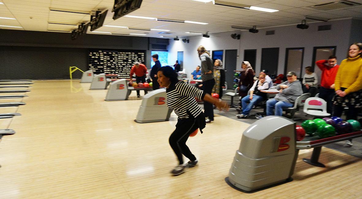 Bowling i førjulsstria